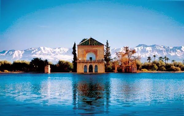 Menara gardens morocco