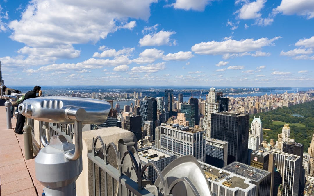 One of Manhattan's liveliest locations