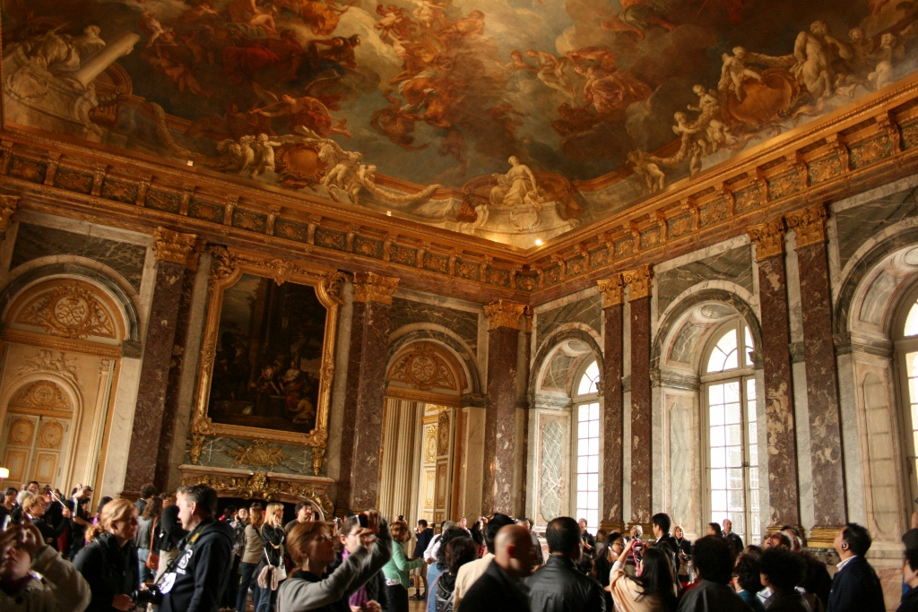 The Grand Apartments palace of versailles