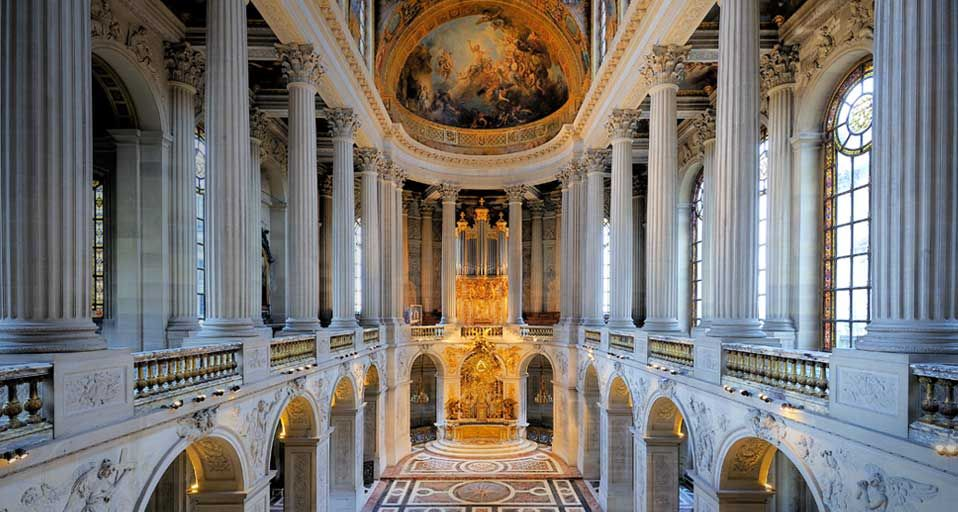 The Royal Chapel palace of versailles