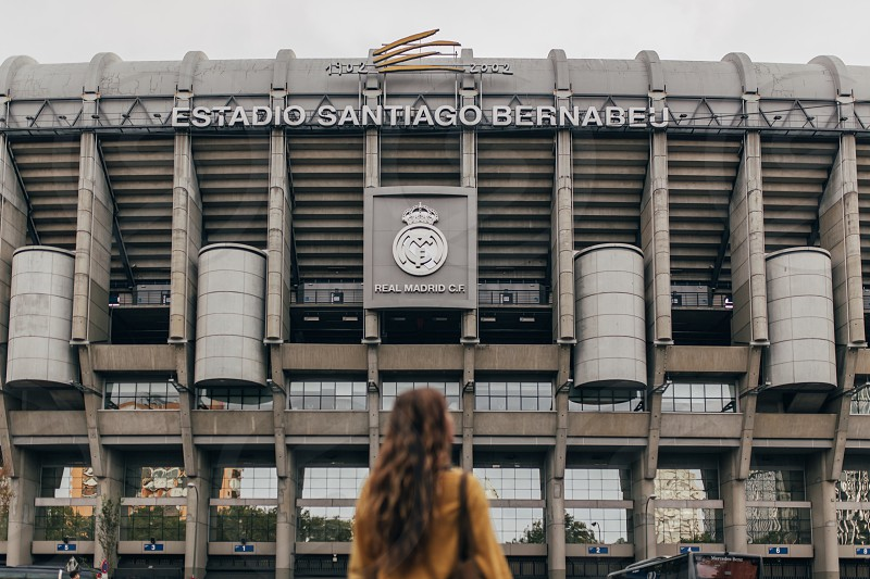 santiago bernabéu stadium madrid spain