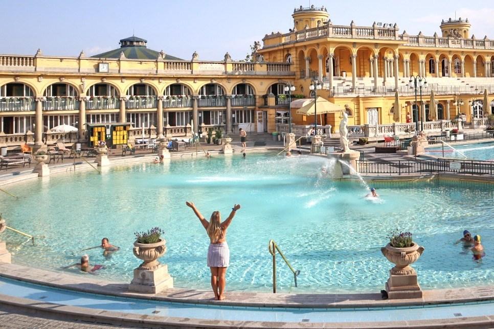 szechenyi thermal baths budapest
