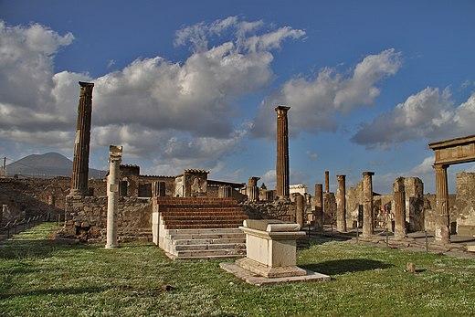 temple of apollo pompeii